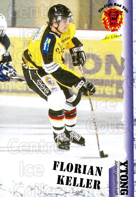 1999-00 German Bundesliga 2 #24 Florian Keller<br/>11 In Stock - $2.00 each - <a href=https://centericecollectibles.foxycart.com/cart?name=1999-00%20German%20Bundesliga%202%20%2324%20Florian%20Keller...&quantity_max=11&price=$2.00&code=75831 class=foxycart> Buy it now! </a>