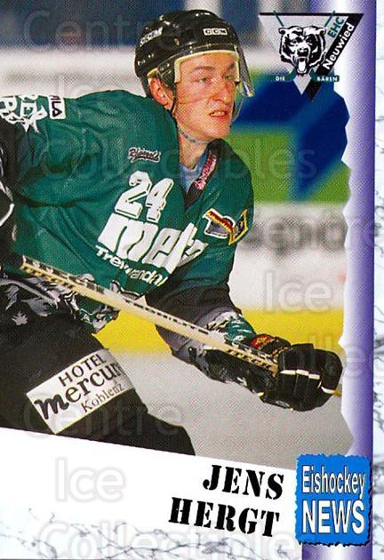 1999-00 German Bundesliga 2 #240 Jens Herget<br/>12 In Stock - $2.00 each - <a href=https://centericecollectibles.foxycart.com/cart?name=1999-00%20German%20Bundesliga%202%20%23240%20Jens%20Herget...&quantity_max=12&price=$2.00&code=75832 class=foxycart> Buy it now! </a>