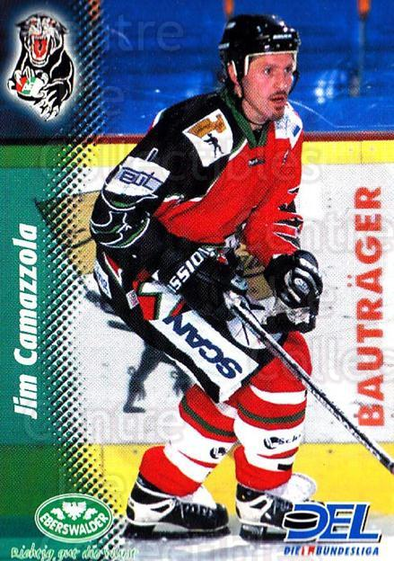 1999-00 German DEL #163 Jim Camazzola<br/>9 In Stock - $2.00 each - <a href=https://centericecollectibles.foxycart.com/cart?name=1999-00%20German%20DEL%20%23163%20Jim%20Camazzola...&quantity_max=9&price=$2.00&code=75903 class=foxycart> Buy it now! </a>