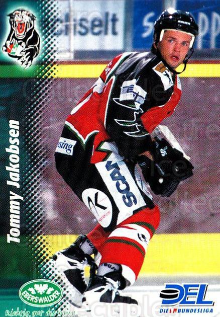 1999-00 German DEL #166 Tommy Jakobsen<br/>3 In Stock - $2.00 each - <a href=https://centericecollectibles.foxycart.com/cart?name=1999-00%20German%20DEL%20%23166%20Tommy%20Jakobsen...&quantity_max=3&price=$2.00&code=75906 class=foxycart> Buy it now! </a>