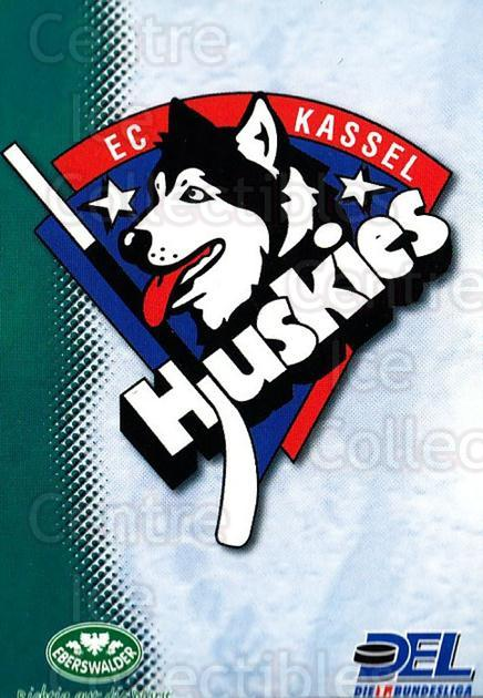 1999-00 German DEL #170 Kassel Huskies, Checklist<br/>9 In Stock - $2.00 each - <a href=https://centericecollectibles.foxycart.com/cart?name=1999-00%20German%20DEL%20%23170%20Kassel%20Huskies,...&quantity_max=9&price=$2.00&code=75911 class=foxycart> Buy it now! </a>