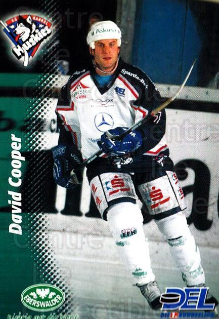 1999-00 German DEL #172 David Cooper<br/>8 In Stock - $2.00 each - <a href=https://centericecollectibles.foxycart.com/cart?name=1999-00%20German%20DEL%20%23172%20David%20Cooper...&quantity_max=8&price=$2.00&code=75913 class=foxycart> Buy it now! </a>