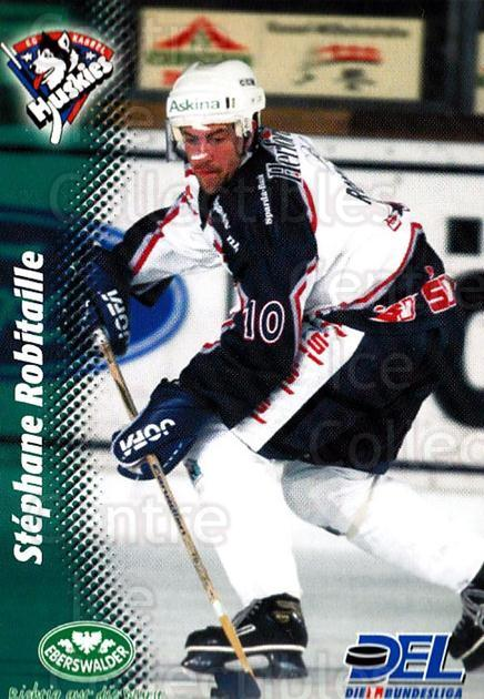 1999-00 German DEL #174 Stephane Robitaille<br/>11 In Stock - $2.00 each - <a href=https://centericecollectibles.foxycart.com/cart?name=1999-00%20German%20DEL%20%23174%20Stephane%20Robita...&quantity_max=11&price=$2.00&code=75915 class=foxycart> Buy it now! </a>