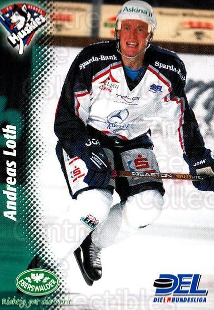 1999-00 German DEL #179 Andreas Loth<br/>8 In Stock - $2.00 each - <a href=https://centericecollectibles.foxycart.com/cart?name=1999-00%20German%20DEL%20%23179%20Andreas%20Loth...&quantity_max=8&price=$2.00&code=75920 class=foxycart> Buy it now! </a>
