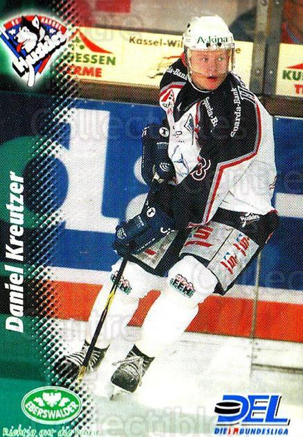 1999-00 German DEL #183 Daniel Kreutzer<br/>8 In Stock - $2.00 each - <a href=https://centericecollectibles.foxycart.com/cart?name=1999-00%20German%20DEL%20%23183%20Daniel%20Kreutzer...&quantity_max=8&price=$2.00&code=75925 class=foxycart> Buy it now! </a>