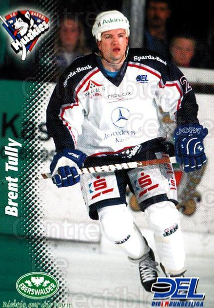 1999-00 German DEL #184 Brent Tully<br/>7 In Stock - $2.00 each - <a href=https://centericecollectibles.foxycart.com/cart?name=1999-00%20German%20DEL%20%23184%20Brent%20Tully...&quantity_max=7&price=$2.00&code=75926 class=foxycart> Buy it now! </a>