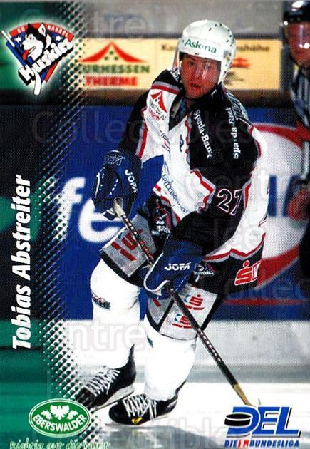 1999-00 German DEL #186 Tobias Abstreiter<br/>8 In Stock - $2.00 each - <a href=https://centericecollectibles.foxycart.com/cart?name=1999-00%20German%20DEL%20%23186%20Tobias%20Abstreit...&quantity_max=8&price=$2.00&code=75928 class=foxycart> Buy it now! </a>