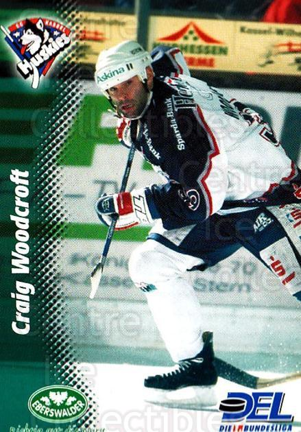 1999-00 German DEL #192 Craig Woodcroft<br/>5 In Stock - $2.00 each - <a href=https://centericecollectibles.foxycart.com/cart?name=1999-00%20German%20DEL%20%23192%20Craig%20Woodcroft...&quantity_max=5&price=$2.00&code=75935 class=foxycart> Buy it now! </a>