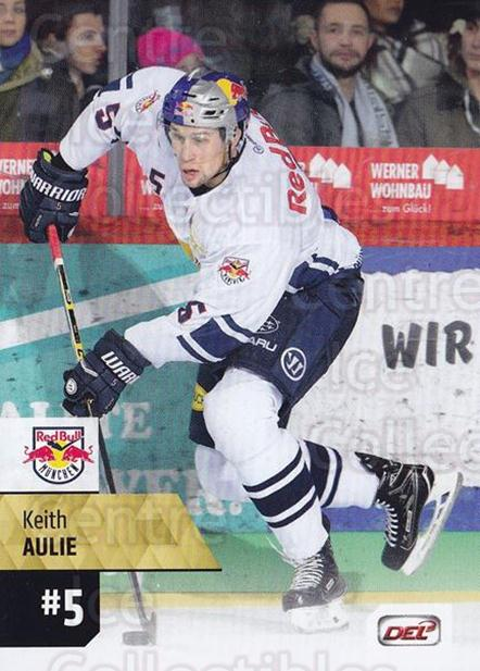 2017-18 German DEL #441 Keith Aulie<br/>4 In Stock - $2.00 each - <a href=https://centericecollectibles.foxycart.com/cart?name=2017-18%20German%20DEL%20%23441%20Keith%20Aulie...&quantity_max=4&price=$2.00&code=760139 class=foxycart> Buy it now! </a>