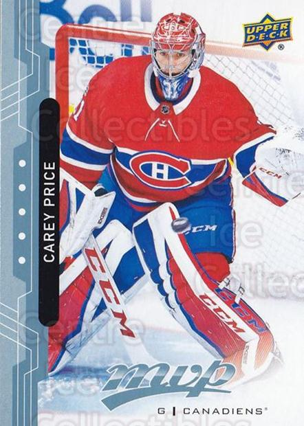 2018-19 Upper Deck MVP Blue #206 Carey Price<br/>3 In Stock - $5.00 each - <a href=https://centericecollectibles.foxycart.com/cart?name=2018-19%20Upper%20Deck%20MVP%20Blue%20%23206%20Carey%20Price...&quantity_max=3&price=$5.00&code=760756 class=foxycart> Buy it now! </a>
