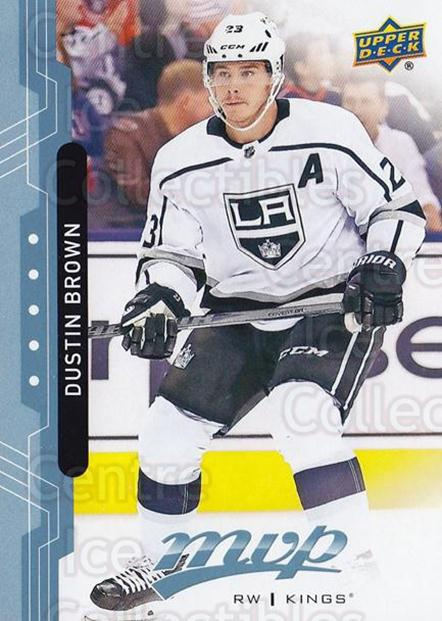 2018-19 Upper Deck MVP Blue #47 Dustin Brown<br/>1 In Stock - $1.00 each - <a href=https://centericecollectibles.foxycart.com/cart?name=2018-19%20Upper%20Deck%20MVP%20Blue%20%2347%20Dustin%20Brown...&quantity_max=1&price=$1.00&code=760879 class=foxycart> Buy it now! </a>
