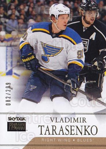 2014-15 Fleer Showcase SkyBox Premium #10 Vladimir Tarasenko<br/>1 In Stock - $5.00 each - <a href=https://centericecollectibles.foxycart.com/cart?name=2014-15%20Fleer%20Showcase%20SkyBox%20Premium%20%2310%20Vladimir%20Tarase...&quantity_max=1&price=$5.00&code=761288 class=foxycart> Buy it now! </a>