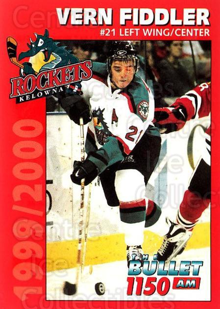 1999-00 Kelowna Rockets #4 Vernon Fiddler<br/>3 In Stock - $3.00 each - <a href=https://centericecollectibles.foxycart.com/cart?name=1999-00%20Kelowna%20Rockets%20%234%20Vernon%20Fiddler...&quantity_max=3&price=$3.00&code=76168 class=foxycart> Buy it now! </a>