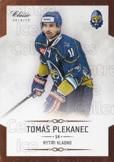 2018-19 Czech OFS Classic Chance League #40 Tomas Plekanec<br/>1 In Stock - $2.00 each - <a href=https://centericecollectibles.foxycart.com/cart?name=2018-19%20Czech%20OFS%20Classic%20Chance%20League%20%2340%20Tomas%20Plekanec...&quantity_max=1&price=$2.00&code=762010 class=foxycart> Buy it now! </a>
