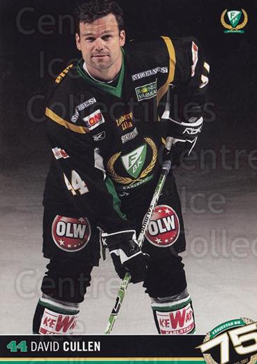 2007-08 Swedish Farjestad BK Postcards #10 David Cullen<br/>1 In Stock - $3.00 each - <a href=https://centericecollectibles.foxycart.com/cart?name=2007-08%20Swedish%20Farjestad%20BK%20Postcards%20%2310%20David%20Cullen...&quantity_max=1&price=$3.00&code=762543 class=foxycart> Buy it now! </a>