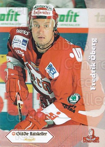 2003-04 German Hannover Scorpions Postcards #12 Fredrik Oberg<br/>1 In Stock - $3.00 each - <a href=https://centericecollectibles.foxycart.com/cart?name=2003-04%20German%20Hannover%20Scorpions%20Postcards%20%2312%20Fredrik%20Oberg...&quantity_max=1&price=$3.00&code=762741 class=foxycart> Buy it now! </a>