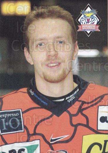 2002-03 German Fischtown Pinguins Team Issue #6 Marco Ahrens<br/>1 In Stock - $3.00 each - <a href=https://centericecollectibles.foxycart.com/cart?name=2002-03%20German%20Fischtown%20Pinguins%20Team%20Issue%20%236%20Marco%20Ahrens...&quantity_max=1&price=$3.00&code=763069 class=foxycart> Buy it now! </a>