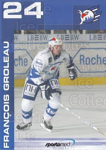 2003-04 German Mannheim Eagles Postcards Sporto Promo #9 Francois Groleau<br/>1 In Stock - $3.00 each - <a href=https://centericecollectibles.foxycart.com/cart?name=2003-04%20German%20Mannheim%20Eagles%20Postcards%20Sporto%20Promo%20%239%20Francois%20Grolea...&quantity_max=1&price=$3.00&code=763171 class=foxycart> Buy it now! </a>