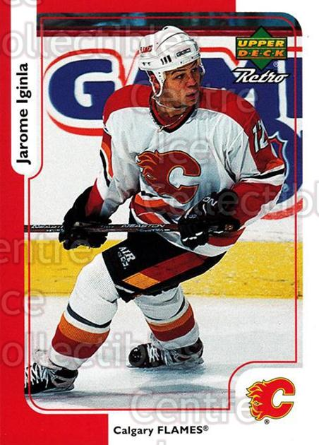 1999-00 McDonalds Upper Deck Retro #05 Jarome Iginla<br/>9 In Stock - $1.00 each - <a href=https://centericecollectibles.foxycart.com/cart?name=1999-00%20McDonalds%20Upper%20Deck%20Retro%20%2305%20Jarome%20Iginla...&quantity_max=9&price=$1.00&code=76346 class=foxycart> Buy it now! </a>