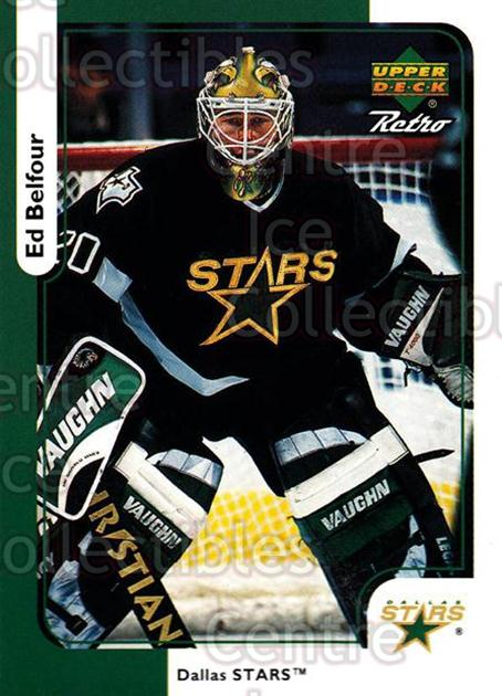 1999-00 McDonalds Upper Deck Retro #08 Ed Belfour<br/>10 In Stock - $1.00 each - <a href=https://centericecollectibles.foxycart.com/cart?name=1999-00%20McDonalds%20Upper%20Deck%20Retro%20%2308%20Ed%20Belfour...&price=$1.00&code=76352 class=foxycart> Buy it now! </a>