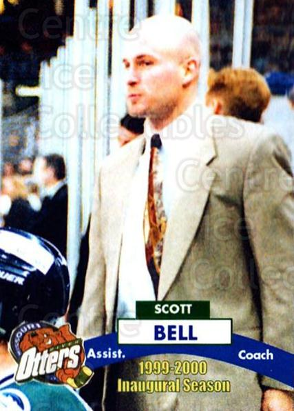 1999-00 Missouri River Otters #25 Scott Bell<br/>8 In Stock - $3.00 each - <a href=https://centericecollectibles.foxycart.com/cart?name=1999-00%20Missouri%20River%20Otters%20%2325%20Scott%20Bell...&quantity_max=8&price=$3.00&code=76373 class=foxycart> Buy it now! </a>