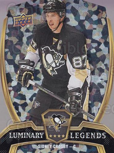 2015-16 Upper Deck Overtime Luminary Legends #1 Sidney Crosby<br/>6 In Stock - $10.00 each - <a href=https://centericecollectibles.foxycart.com/cart?name=2015-16%20Upper%20Deck%20Overtime%20Luminary%20Legends%20%231%20Sidney%20Crosby...&quantity_max=6&price=$10.00&code=764285 class=foxycart> Buy it now! </a>
