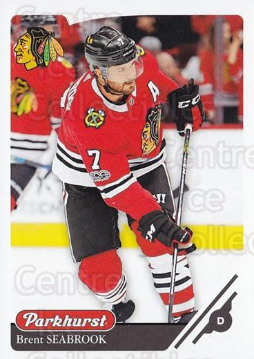 2018-19 Parkhurst #103 Brent Seabrook<br/>2 In Stock - $1.00 each - <a href=https://centericecollectibles.foxycart.com/cart?name=2018-19%20Parkhurst%20%23103%20Brent%20Seabrook...&quantity_max=2&price=$1.00&code=764458 class=foxycart> Buy it now! </a>