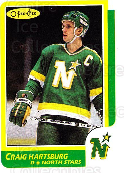 1986-87 O-pee-chee Blank Backs #12 Craig Hartsburg<br/>1 In Stock - $5.00 each - <a href=https://centericecollectibles.foxycart.com/cart?name=1986-87%20O-pee-chee%20Blank%20Backs%20%2312%20Craig%20Hartsburg...&quantity_max=1&price=$5.00&code=765490 class=foxycart> Buy it now! </a>