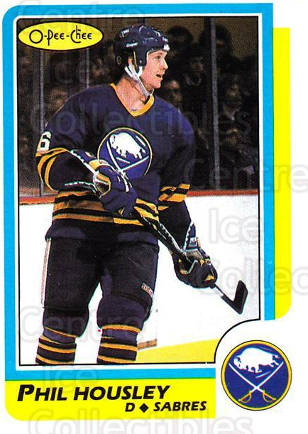 1986-87 O-pee-chee Blank Backs #154 Phil Housley<br/>1 In Stock - $5.00 each - <a href=https://centericecollectibles.foxycart.com/cart?name=1986-87%20O-pee-chee%20Blank%20Backs%20%23154%20Phil%20Housley...&quantity_max=1&price=$5.00&code=765513 class=foxycart> Buy it now! </a>
