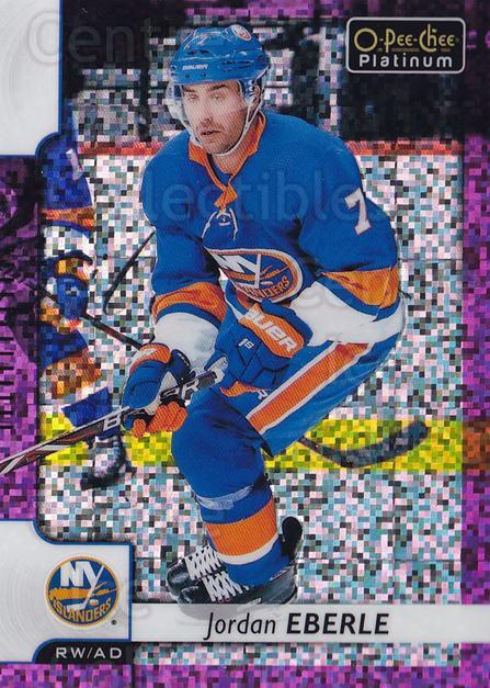 2017-18 O-Pee-Chee Platinum Violet Pixels #104 Jordan Eberle<br/>1 In Stock - $5.00 each - <a href=https://centericecollectibles.foxycart.com/cart?name=2017-18%20O-Pee-Chee%20Platinum%20Violet%20Pixels%20%23104%20Jordan%20Eberle...&quantity_max=1&price=$5.00&code=765887 class=foxycart> Buy it now! </a>