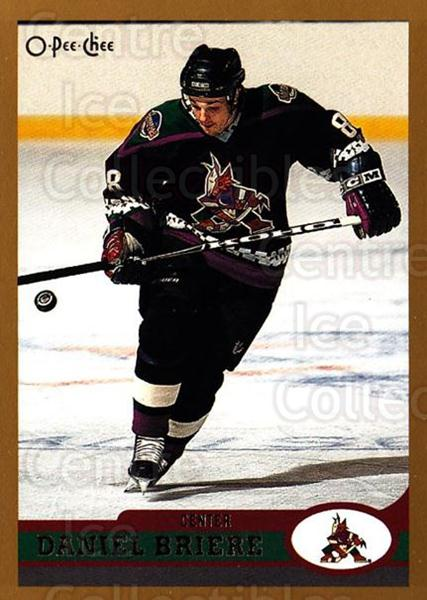 1999-00 O-Pee-Chee #144 Daniel Briere<br/>12 In Stock - $1.00 each - <a href=https://centericecollectibles.foxycart.com/cart?name=1999-00%20O-Pee-Chee%20%23144%20Daniel%20Briere...&quantity_max=12&price=$1.00&code=76602 class=foxycart> Buy it now! </a>