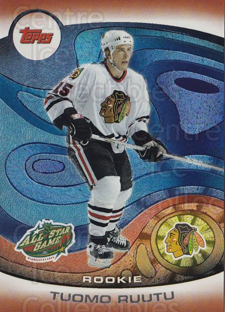 2004 Topps AS Fantasy Redemption #6 Tuomo Ruutu<br/>1 In Stock - $5.00 each - <a href=https://centericecollectibles.foxycart.com/cart?name=2004%20Topps%20AS%20Fantasy%20Redemption%20%236%20Tuomo%20Ruutu...&quantity_max=1&price=$5.00&code=766196 class=foxycart> Buy it now! </a>