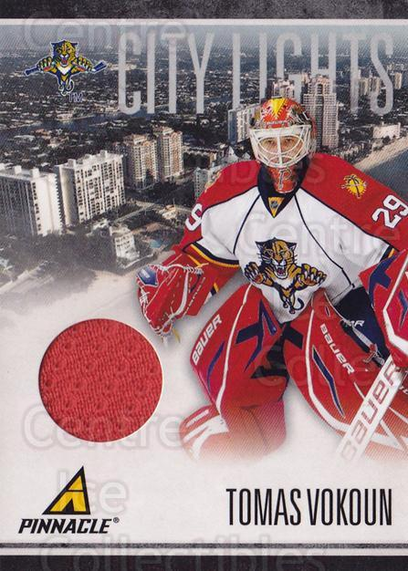 2010-11 Pinnacle City Lights Materials #24 Tomas Vokoun<br/>1 In Stock - $10.00 each - <a href=https://centericecollectibles.foxycart.com/cart?name=2010-11%20Pinnacle%20City%20Lights%20Materials%20%2324%20Tomas%20Vokoun...&quantity_max=1&price=$10.00&code=766325 class=foxycart> Buy it now! </a>