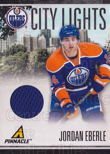 2010-11 Pinnacle City Lights Materials #89 Jordan Eberle<br/>1 In Stock - $10.00 each - <a href=https://centericecollectibles.foxycart.com/cart?name=2010-11%20Pinnacle%20City%20Lights%20Materials%20%2389%20Jordan%20Eberle...&quantity_max=1&price=$10.00&code=766390 class=foxycart> Buy it now! </a>
