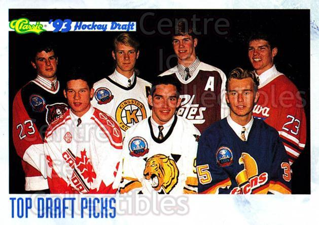 1993 Classic Hockey Draft #11 Alexandre Daigle, Chris Pronger, Chris Gratton, Paul Kariya, Rob Niedermayer, Viktor Kozlov, Jason Arnott, Niklas Sundstrom, Todd Harvey, Jocelyn Thibault, Checklist<br/>4 In Stock - $1.00 each - <a href=https://centericecollectibles.foxycart.com/cart?name=1993%20Classic%20Hockey%20Draft%20%2311%20Alexandre%20Daigl...&quantity_max=4&price=$1.00&code=7663 class=foxycart> Buy it now! </a>