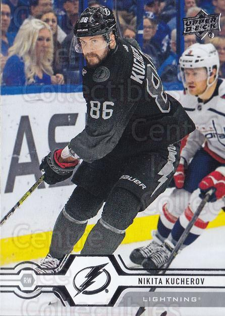 2019-20 Upper Deck #22 Nikita Kucherov<br/>15 In Stock - $1.00 each - <a href=https://centericecollectibles.foxycart.com/cart?name=2019-20%20Upper%20Deck%20%2322%20Nikita%20Kucherov...&quantity_max=15&price=$1.00&code=766931 class=foxycart> Buy it now! </a>