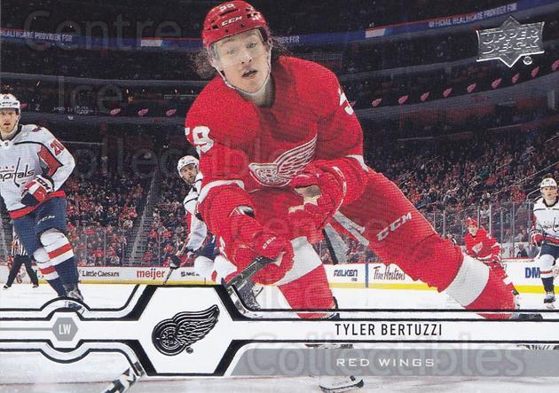 2019-20 Upper Deck #30 Tyler Bertuzzi<br/>15 In Stock - $1.00 each - <a href=https://centericecollectibles.foxycart.com/cart?name=2019-20%20Upper%20Deck%20%2330%20Tyler%20Bertuzzi...&quantity_max=15&price=$1.00&code=766939 class=foxycart> Buy it now! </a>