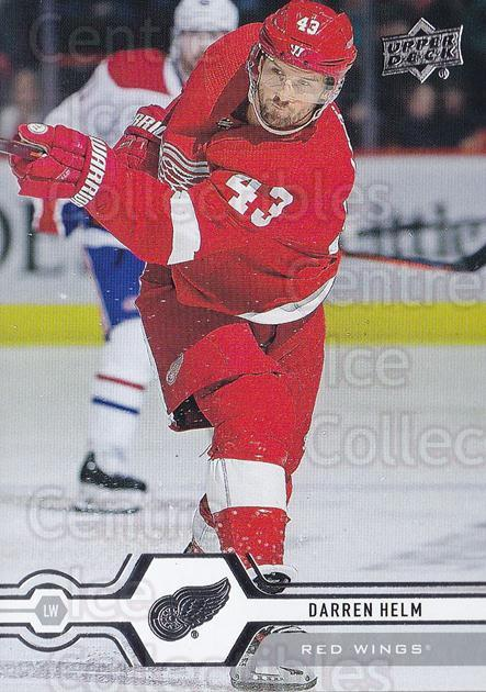 2019-20 Upper Deck #33 Darren Helm<br/>15 In Stock - $1.00 each - <a href=https://centericecollectibles.foxycart.com/cart?name=2019-20%20Upper%20Deck%20%2333%20Darren%20Helm...&quantity_max=15&price=$1.00&code=766942 class=foxycart> Buy it now! </a>