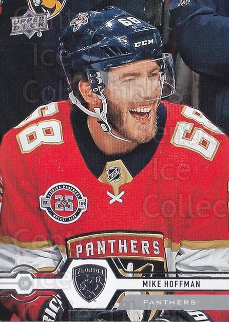 2019-20 Upper Deck #41 Mike Hoffman<br/>14 In Stock - $1.00 each - <a href=https://centericecollectibles.foxycart.com/cart?name=2019-20%20Upper%20Deck%20%2341%20Mike%20Hoffman...&quantity_max=14&price=$1.00&code=766950 class=foxycart> Buy it now! </a>