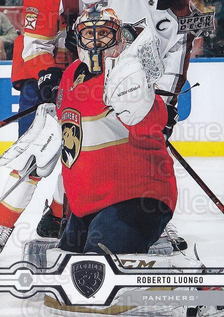 2019-20 Upper Deck #45 Roberto Luongo<br/>13 In Stock - $1.00 each - <a href=https://centericecollectibles.foxycart.com/cart?name=2019-20%20Upper%20Deck%20%2345%20Roberto%20Luongo...&quantity_max=13&price=$1.00&code=766954 class=foxycart> Buy it now! </a>