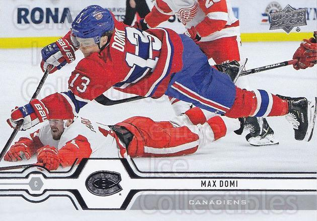 2019-20 Upper Deck #46 Max Domi<br/>15 In Stock - $1.00 each - <a href=https://centericecollectibles.foxycart.com/cart?name=2019-20%20Upper%20Deck%20%2346%20Max%20Domi...&quantity_max=15&price=$1.00&code=766955 class=foxycart> Buy it now! </a>