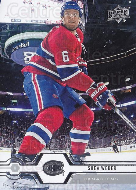 2019-20 Upper Deck #51 Shea Weber<br/>15 In Stock - $1.00 each - <a href=https://centericecollectibles.foxycart.com/cart?name=2019-20%20Upper%20Deck%20%2351%20Shea%20Weber...&quantity_max=15&price=$1.00&code=766960 class=foxycart> Buy it now! </a>