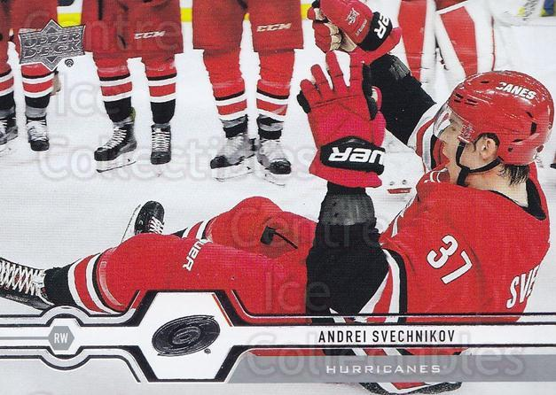 2019-20 Upper Deck #53 Andrei Svechnikov<br/>15 In Stock - $1.00 each - <a href=https://centericecollectibles.foxycart.com/cart?name=2019-20%20Upper%20Deck%20%2353%20Andrei%20Svechnik...&quantity_max=15&price=$1.00&code=766962 class=foxycart> Buy it now! </a>