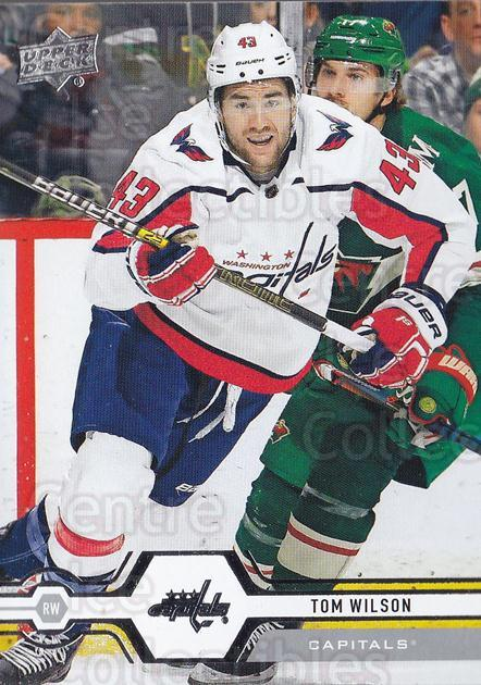 2019-20 Upper Deck #60 Tom Wilson<br/>15 In Stock - $1.00 each - <a href=https://centericecollectibles.foxycart.com/cart?name=2019-20%20Upper%20Deck%20%2360%20Tom%20Wilson...&quantity_max=15&price=$1.00&code=766969 class=foxycart> Buy it now! </a>