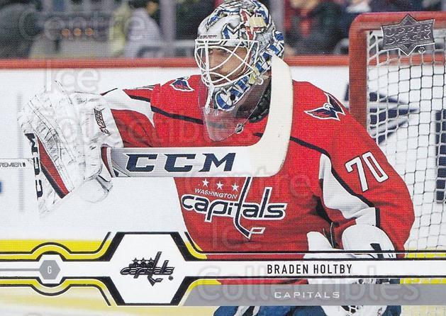 2019-20 Upper Deck #65 Braden Holtby<br/>14 In Stock - $1.00 each - <a href=https://centericecollectibles.foxycart.com/cart?name=2019-20%20Upper%20Deck%20%2365%20Braden%20Holtby...&quantity_max=14&price=$1.00&code=766974 class=foxycart> Buy it now! </a>