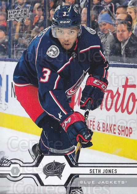 2019-20 Upper Deck #71 Seth Jones<br/>15 In Stock - $1.00 each - <a href=https://centericecollectibles.foxycart.com/cart?name=2019-20%20Upper%20Deck%20%2371%20Seth%20Jones...&quantity_max=15&price=$1.00&code=766980 class=foxycart> Buy it now! </a>