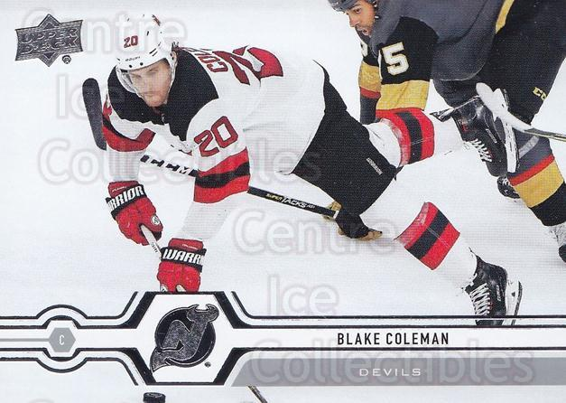 2019-20 Upper Deck #81 Blake Coleman<br/>15 In Stock - $1.00 each - <a href=https://centericecollectibles.foxycart.com/cart?name=2019-20%20Upper%20Deck%20%2381%20Blake%20Coleman...&quantity_max=15&price=$1.00&code=766990 class=foxycart> Buy it now! </a>