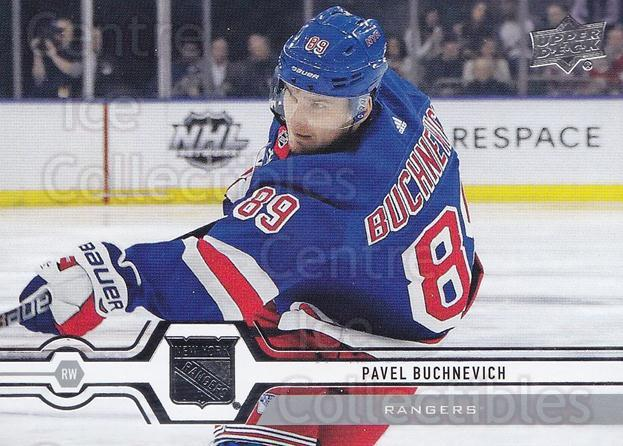 2019-20 Upper Deck #85 Pavel Buchnevich<br/>15 In Stock - $1.00 each - <a href=https://centericecollectibles.foxycart.com/cart?name=2019-20%20Upper%20Deck%20%2385%20Pavel%20Buchnevic...&quantity_max=15&price=$1.00&code=766994 class=foxycart> Buy it now! </a>