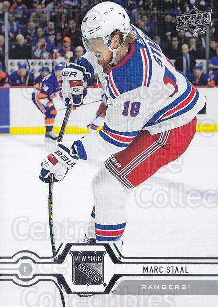 2019-20 Upper Deck #89 Marc Staal<br/>15 In Stock - $1.00 each - <a href=https://centericecollectibles.foxycart.com/cart?name=2019-20%20Upper%20Deck%20%2389%20Marc%20Staal...&quantity_max=15&price=$1.00&code=766998 class=foxycart> Buy it now! </a>