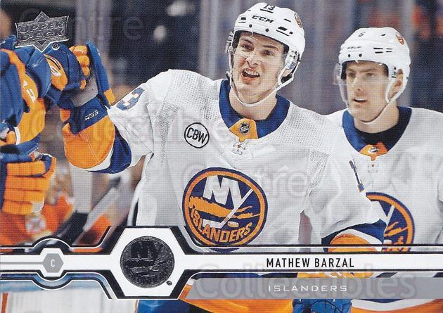 2019-20 Upper Deck #91 Mathew Barzal<br/>15 In Stock - $1.00 each - <a href=https://centericecollectibles.foxycart.com/cart?name=2019-20%20Upper%20Deck%20%2391%20Mathew%20Barzal...&quantity_max=15&price=$1.00&code=767000 class=foxycart> Buy it now! </a>